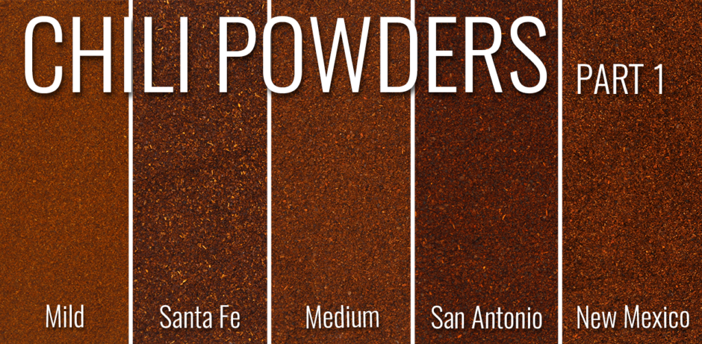 Southern Style Spices Chili Powders